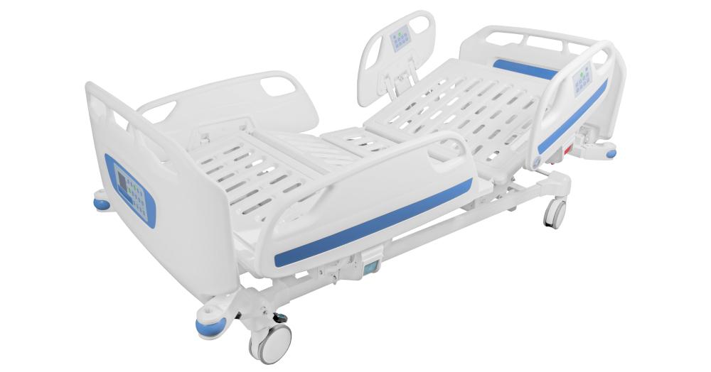 Łóżko szpitalne regulowane elektrycznie