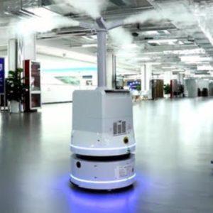 Robot do dekontaminacji