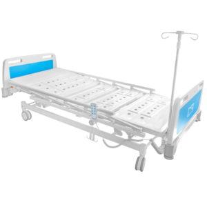 Łóżko szpitalne o zwiększonej nośności