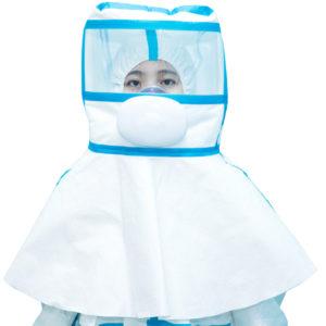 Kaptur izolacyjny do ochrony przed wirusami