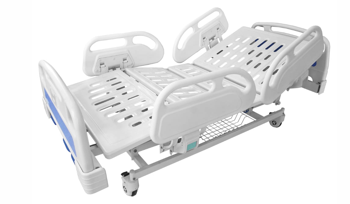 Łóżko szpitalne regulowane