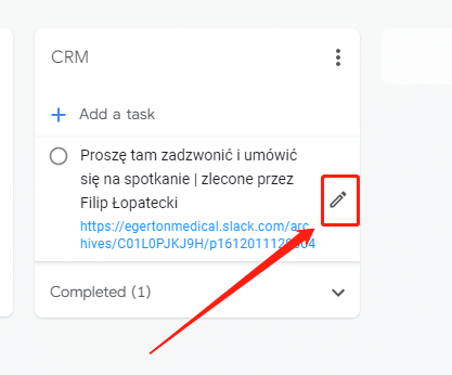 CRM Instruktaż